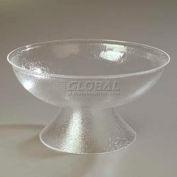 "Carlisle SP2207 - Pebbled Punch Bowl, 24 Qt., 22"", 1 Ea, Clear"