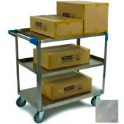 Carlisle® UC5031524 3 Shelf Stainless Steel Utility Cart 500 Lb Cap 15x24