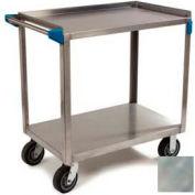 Carlisle® UC7022133 Stainless Steel Utility Cart 2 Shelf 700 Lb. Cap. 21x33