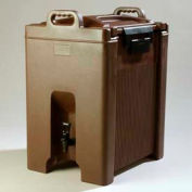Carlisle XT1000001 - Cateraid Beverage Server, 10 Gallon, Insulated, Wide Sure-Latch™, Brown