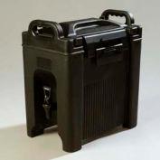 Carlisle XT250003 - Cateraid Beverage Server, 2-1/2 Gallon, Insulated, Wide Sure-Latch™, Black