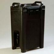 Carlisle XT500003 - Cateraid Beverage Server, 5 Gallon, Insulated, Wide Sure-Latch™, Black