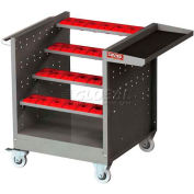 """Shuter CNC Taper 40 Tool Cart, 28 Tool Holders NTW-4B-40T, 39-1/2""""L x 25-1/2""""W x 32-1/2""""H"""