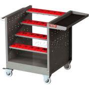"""Shuter CNC Taper 50 Tool Cart, 20 Tool Holders NTW-4B-50T, 39-1/2""""L x 25-1/2""""W x 32-1/2""""H"""