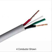Convergent 725210WH1S 22AWG 6C Stranded Shielded Control Cable Plenum (CMP) 1,000 Ft. Spool White
