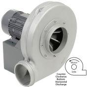 Americraft Aluminum Blower, HADP12, 1-1/2 HP, 3 PH, TEFC, CCW, Bottom Horizontal