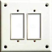 Cortech USA, TPDGF, High Security Double GFI Cover Plate, W/Hardware 1/Pack