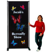 SpeedPress® Butterfly Adjustable Poster Stand 2' Wide
