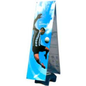 "SpeedPress® Double Wind Wise Outdoor Banner Stand 63""-69""H"