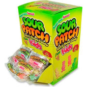 Cadbury Sour Patch Kids Chewy Candy, Assorted Flavors, 24 oz., 240/Box