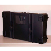 "Case Design 278 Expo II Telescoping Shipping Case - Trade Show Case -44""L x 32""W x 10""H, Black"