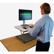 Uncaged Ergonomics CHANGEdesk Mini Sit-Stand Desk Conversion Workstation - White