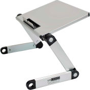 Uncaged Ergonomics WELS WorkEZ Light Aluminum Laptop Stand, Silver