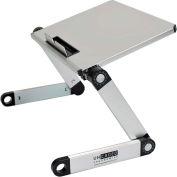 Uncaged Ergonomics WELS WorkEZ Light Aluminum Laptop Stand, Silver