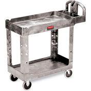 "Rubbermaid Premium Universal Shelf Carts - 36""Wx24""D Shelf - 38-1/8""H - Gray"