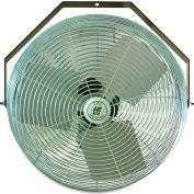 "TPI Workstation Fans - 12"" Blade Diameter - 1/12 Hp - Wall-Mount"