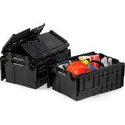 """LewisBins Eco-Friendly Recycled Flipak Tote - 21.8X15.2X9.8"""""""