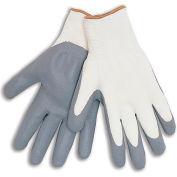 Nitrile General Purpose Work Gloves - Lint-Free Fine Nylon - Ladies - Pkg Qty 12