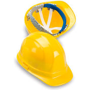 ERB Omega Ii Poly Hard Hat - Economical Hard Hats - Yellow