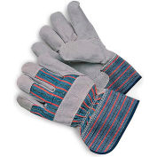Premium Split-Leather Fitter's Gloves Small - Package of 12