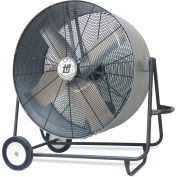 "TPI Belt-Drive Blower - 48"" Blade Diameter - 120V - 1 Hp - Swivel Fan"