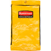 Rubbermaid Vinyl Replacement Bag For Janitor Cart - Package Of 2