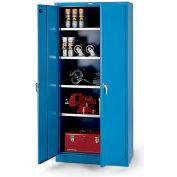 "Parent Metal Xhd Series Galvanized-Shelf Heavy-Industrial Grade Cabinet - 36X24X78"""