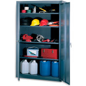 "Edsal Heavy-Industrial Grade All-Welded Cabinets - 48X24X78"" - Gray"