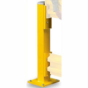"""Wildeck® 44""""H Single Column Post For Double Rail, WC44"""