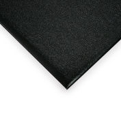 Relius Solutions Ribbed Chevron Carpet Mat - 3X6' - Charcoal