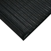 "Relius Solutions Anti-Fatigue Vinyl Mat - 3X5' - 5/8"" Thick - Black"