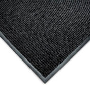 Wearwell Cavalier Ribbed Carpet Mat - 3X6' - Charcoal
