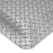 Wearwell Ultrasoft Diamond-Plate Anti-Fatigue And Safety Mat - 2X3' - Gray