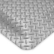 Wearwell Ultrasoft Diamond-Plate Anti-Fatigue And Safety Mat - 3X5' - Gray