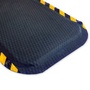 "Andersen Hog Heaven Anti-Fatigue Mat - 3X5'- 5/8"" Thick - Yellow Border"