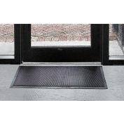 """Wearwell® Heavy Duty Multi-Guard Entrance Mat 1/2"""" Thick 3' x 6' Black"""