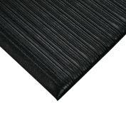 "Anti-Fatigue Vinyl Mat - 3X12' - 3/8"" Thick - Black"
