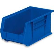 "Akro-Mils Akrobins - 8-1/4 X14-3/4 X7"" - Blue - Pkg Qty 12"