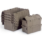 Quantum Attached-Lid Totes - 28X20-5/8X15-5/8""