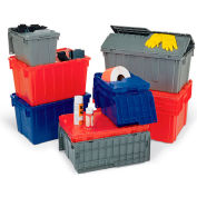 """Orbis Solid Color Flipak Tote - 21-4/5 X15-1/5 X12-9/10"""" - Red"""