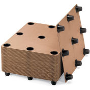 Protecta-Pack Systems Corrugated Pallets - 12 Legs - Pkg Qty 10