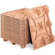 Litco Nestable Presswood Pallets - Export Size - 600Mm W X 800Mm L X 135Mm H 20Klb. Cap. On Floor - Pkg Qty 5