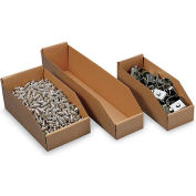 "Fiber Shelf Bins - For 18""D Shelves - 6"" x 18"" x 4-1/2"""