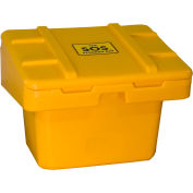 "Techstar SOS Outdoor Storage Container 30"" x 24"" x 23"" - 5.5 Cu. Ft. - Yellow"