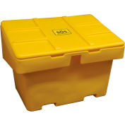 "Techstar SOS Outdoor Storage Container 48"" x 33"" x 34""  - 18.5 Cu. Ft. - Yellow"