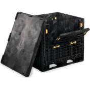 """Orbis Heavy-Duty Collapsible Bulk Containers - 48""""W x 45""""L x 34""""H  2000 lb Cap."""