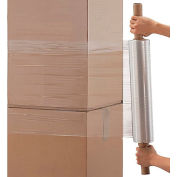 "Extended Core Stretch Wrap  20"" x 1000' x  90 Gauge, Cast - Pkg Qty 4"