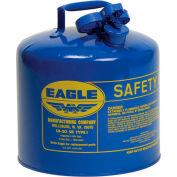 "Eagle Type I Safety Can, 12-1/2"" Dia. x 13-1/2""H, 5 Gallon Capacity - UI-50-SB"
