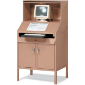 Built-Rite Deluxe Computer Workstation - 36X28X68-1/2""