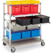 """Metro Extra Shelf For Starsys Trucks - Full-Extension - 36-3/8""""Wx21-9/16""""D"""